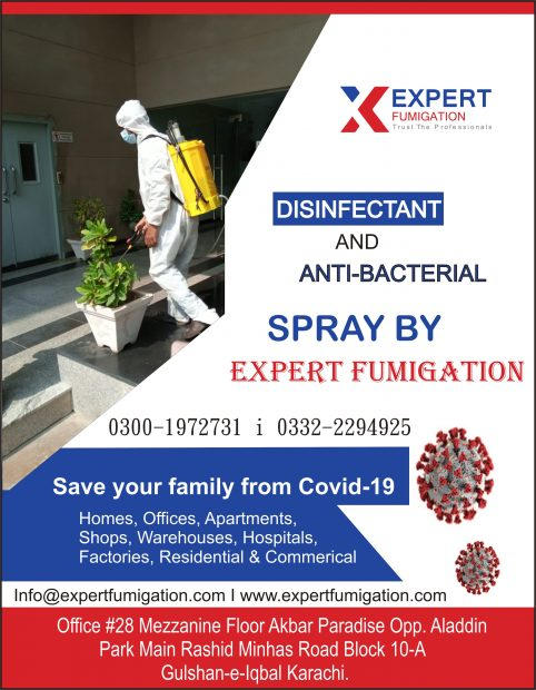 Expert Disinfectant Spray for Covid-19